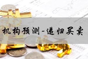 機構預測-遞歸買賣